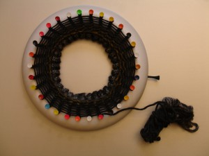 DIY KNITTING LOOM RING