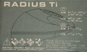 Troxel Radius Titanium 06